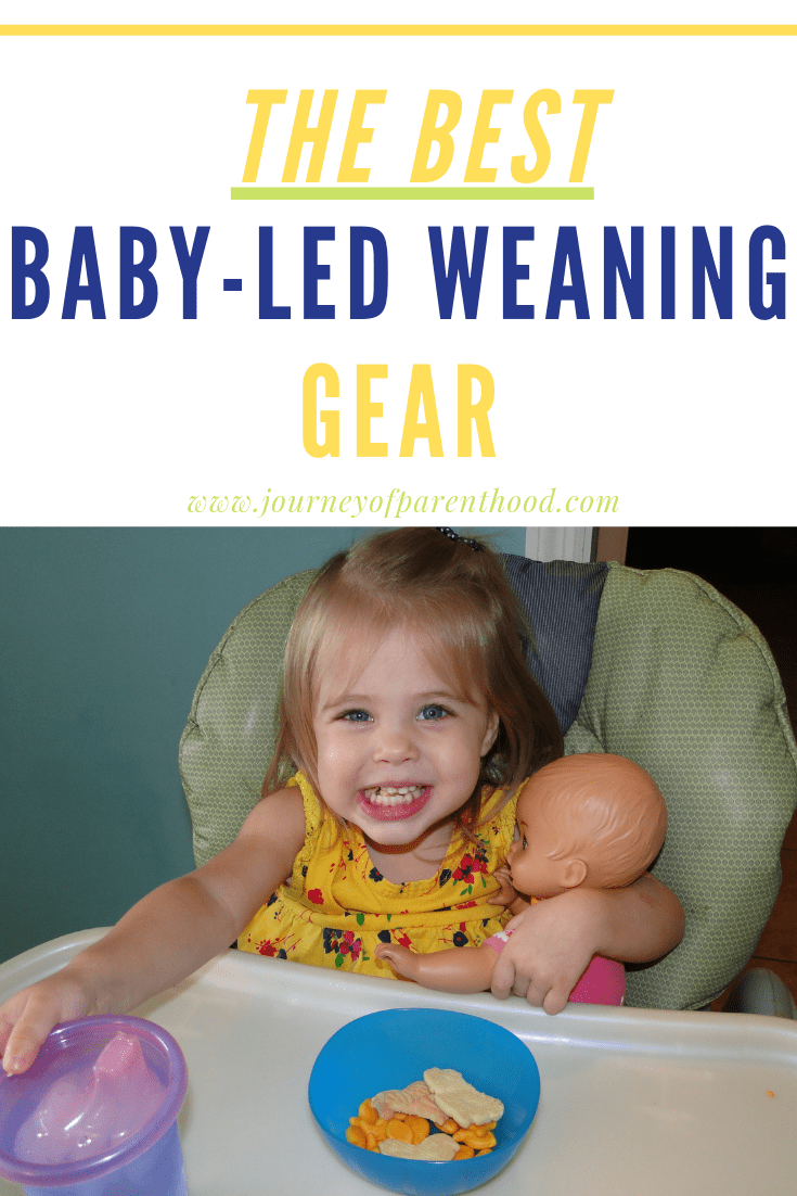 baby in high chair eating - best baby led weaning gear