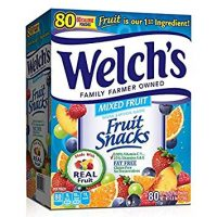 WELCH's Fruit Snacks, Mixed, 80 Count (Pack of 1), 4.5 Pounds
