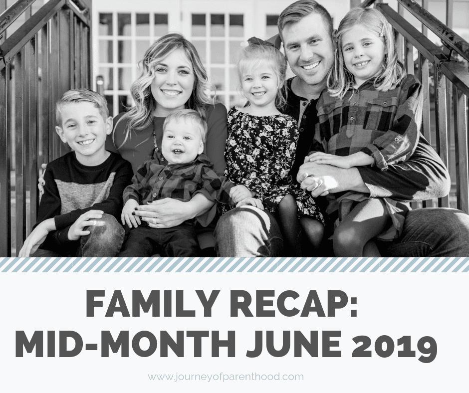 Mid-Month Recap: June 2019