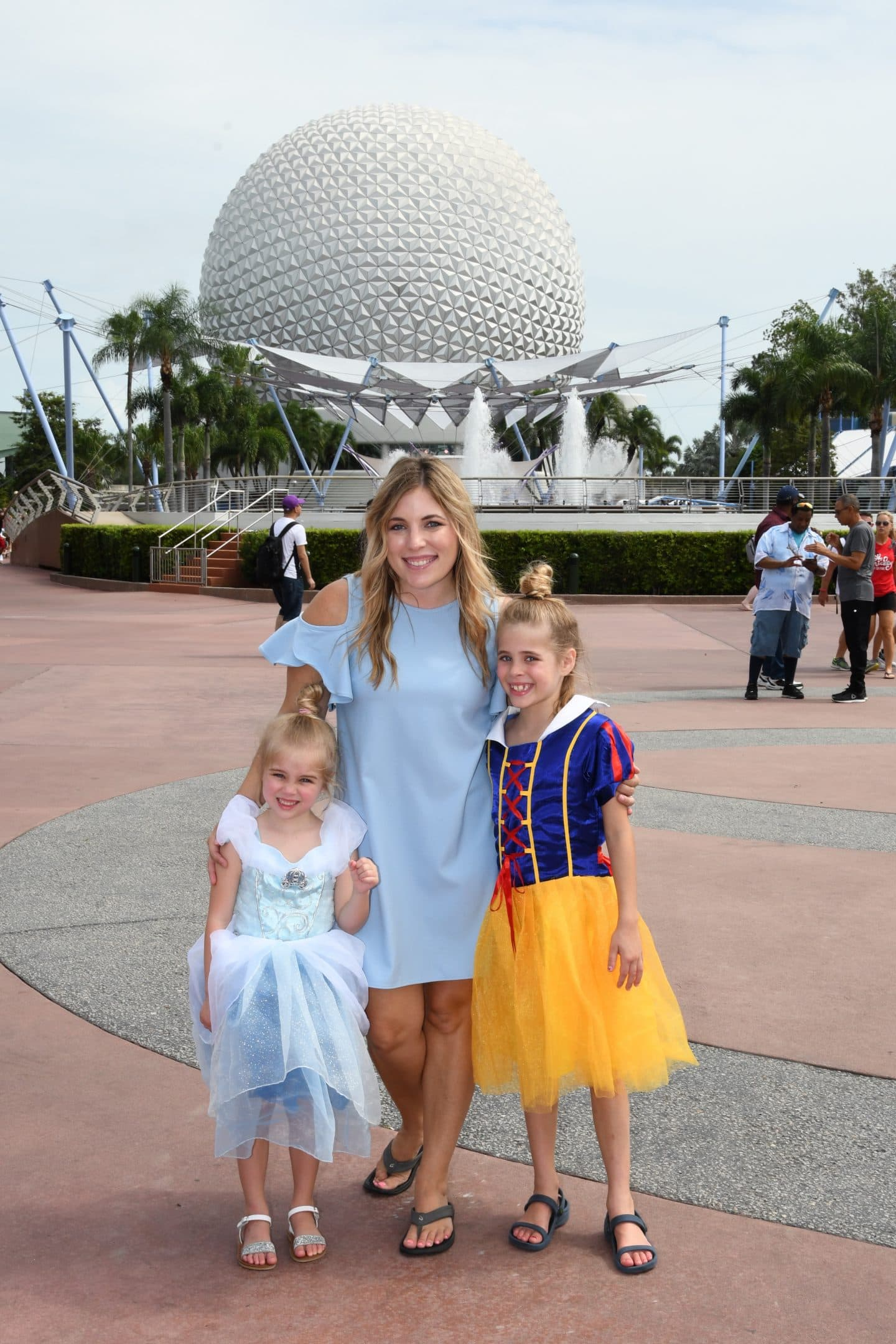 mother daughter trip to Epcot
