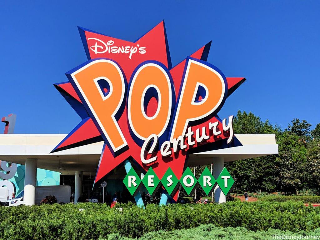 pop century Resort at walt Disney World resort