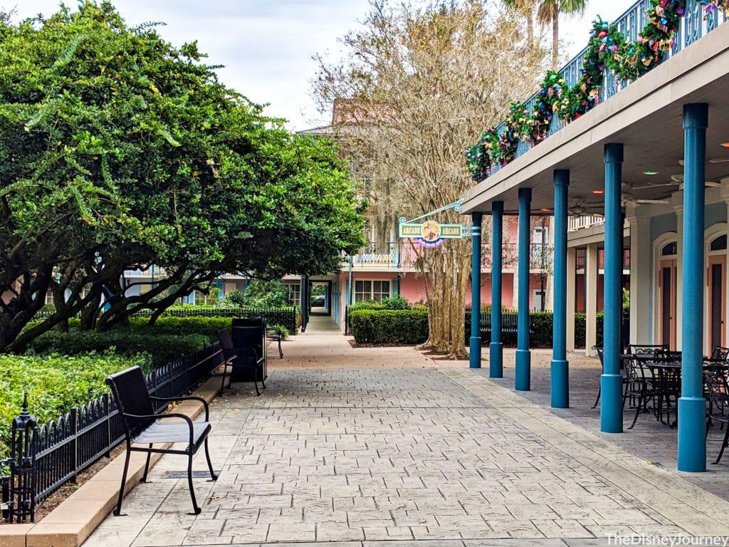 port Orleans French quarter at Walt Disney World resort