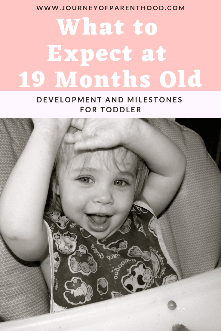 what to expect at 19 months old- development and milestones for a toddler