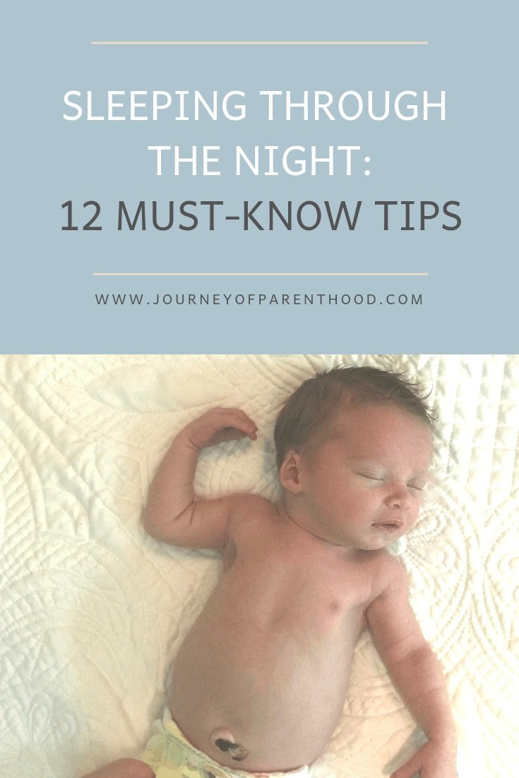 sleeping through the night 12 must-know tips