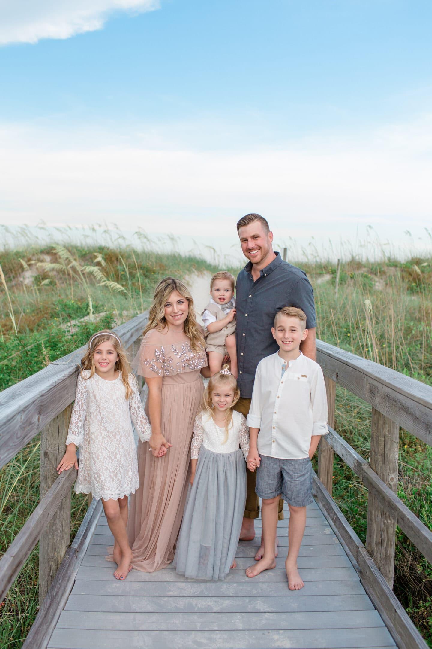 Family Photos July 2019 – St Augustine Beach