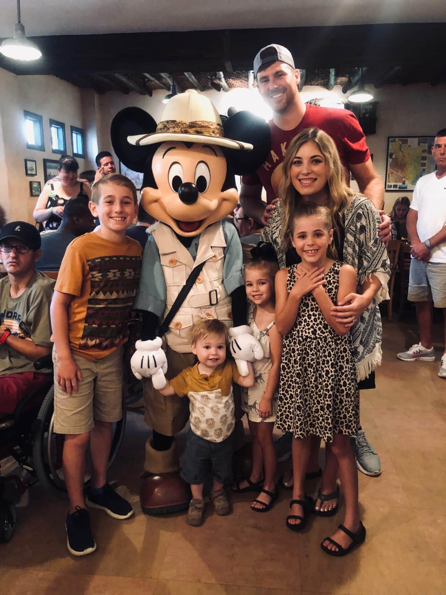 Tess's 5th Bday at Disney: Animal Kingdom and Disney Springs