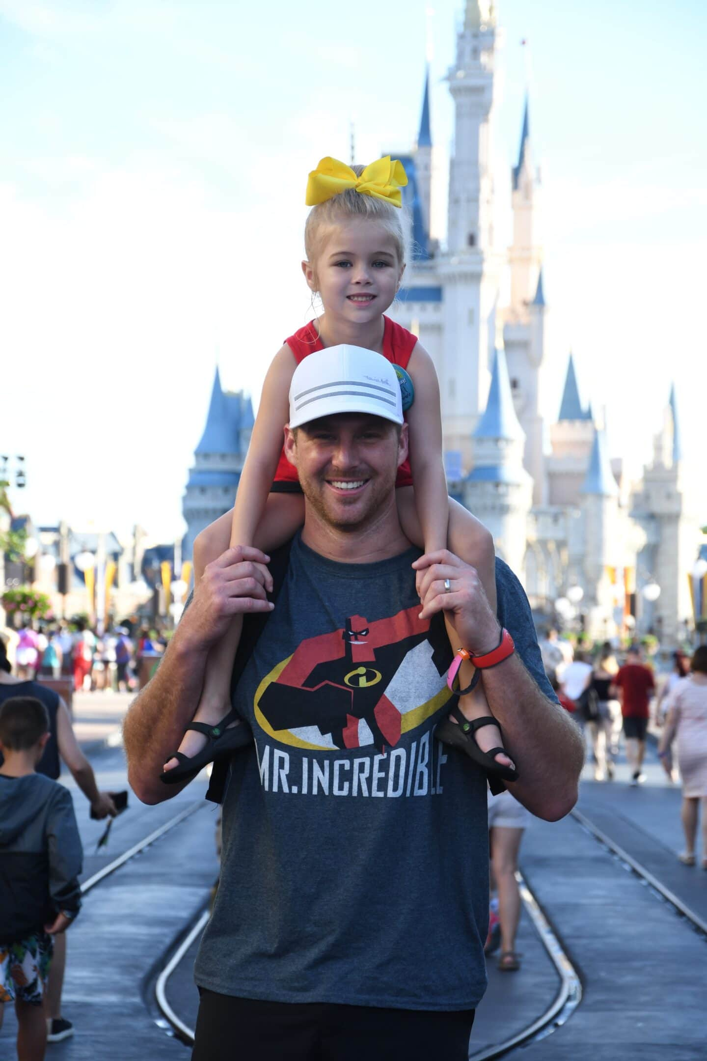 Tess's 5th Bday at Disney: Morning with Daddy