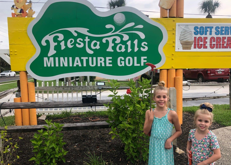 miniature golf in st Augustine Florida