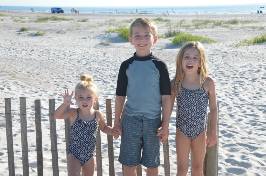 st Augustine Beach florida with kids