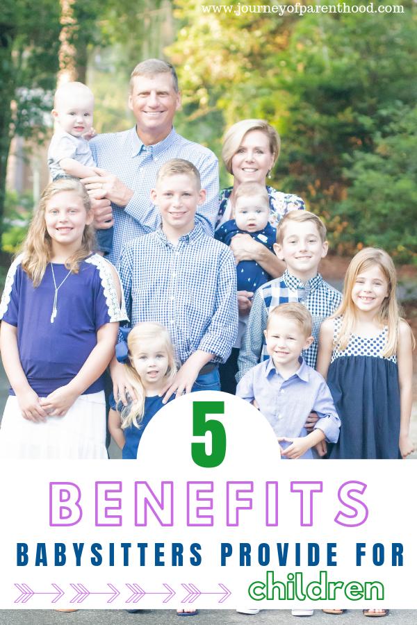 grandparents with grandchildren - 5 benefits babysitters provide for children