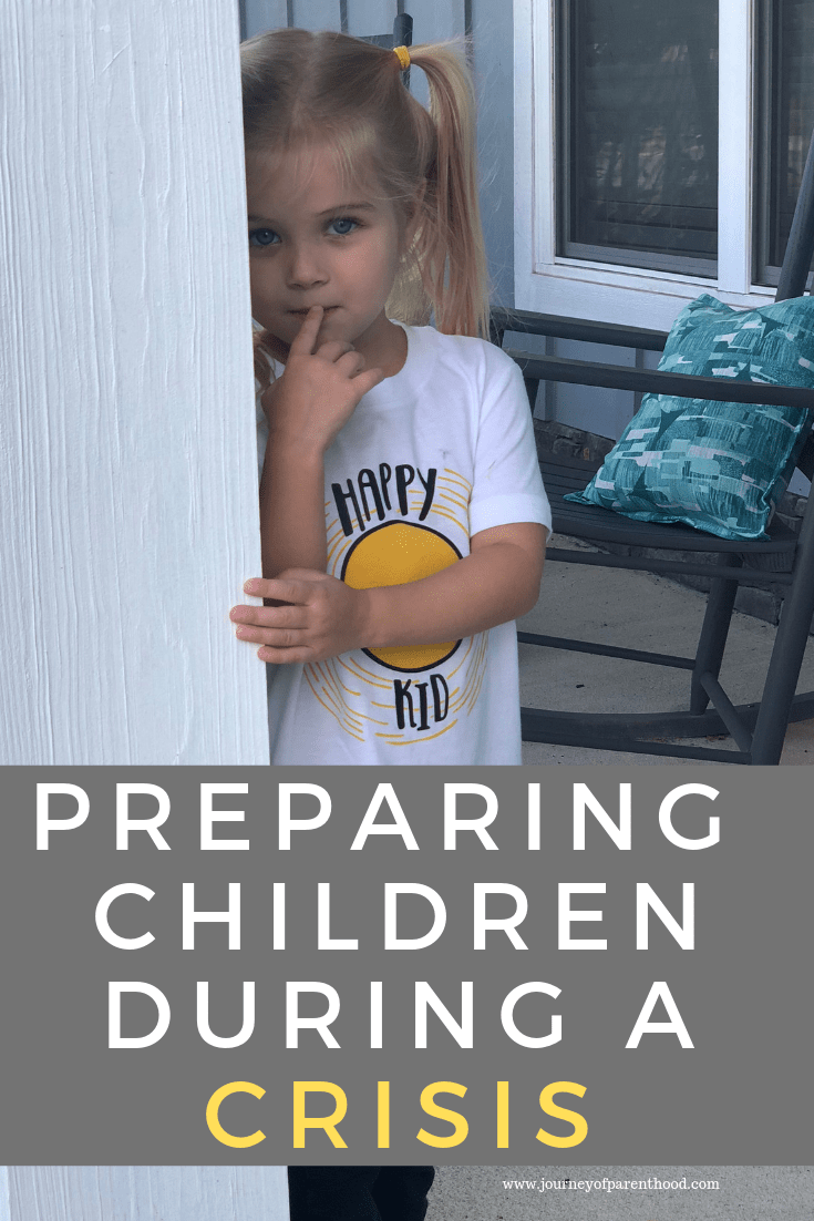 Preparing Children in Times of Crisis