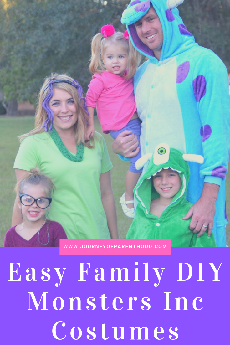 easy family diy monsters inc costumes