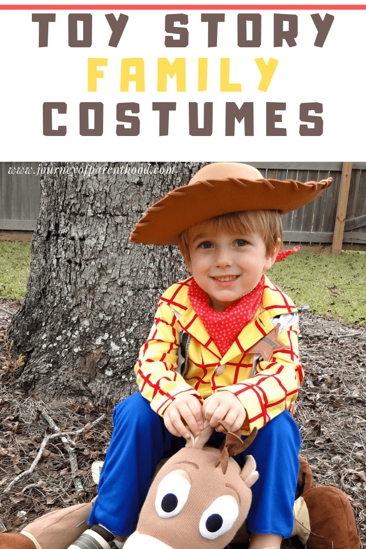 Woody dress up costume toy story halloween