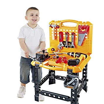 Construction Toy Power Workbench