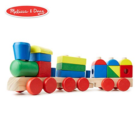 Melissa + Doug Stacking Train