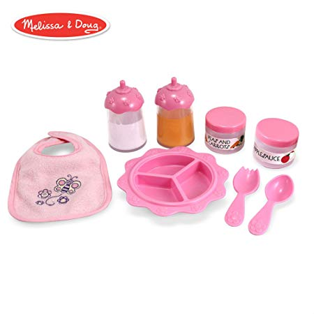 Melissa & Doug Mine to Love Baby Food Bottle Set