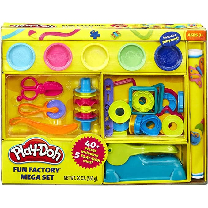 Play-Doh Over 40-Piece Fun Factory