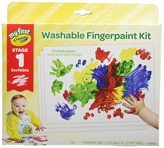 Crayola My First Finger Paint for Toddlers