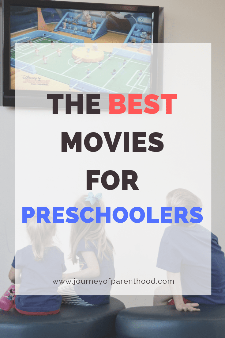 kids watching tv - the best movies for preschoolers