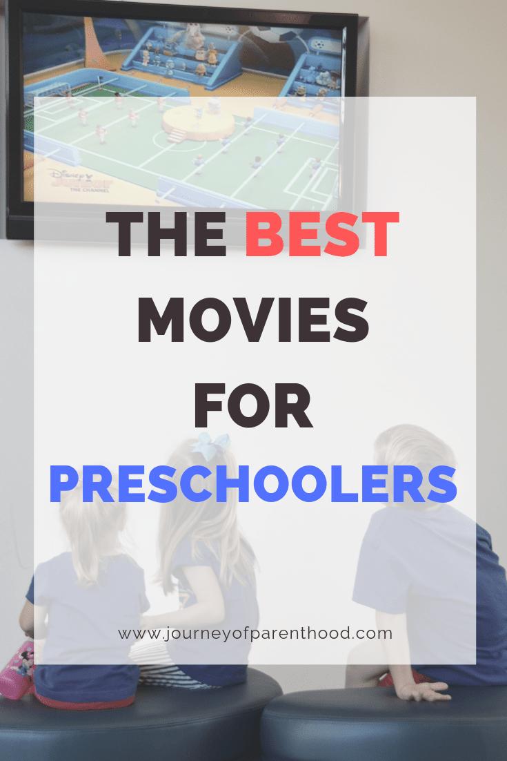 kids watching tv - the best movies for preschoolers