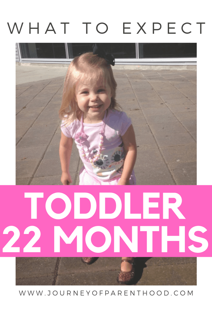 22 month old toddler girl