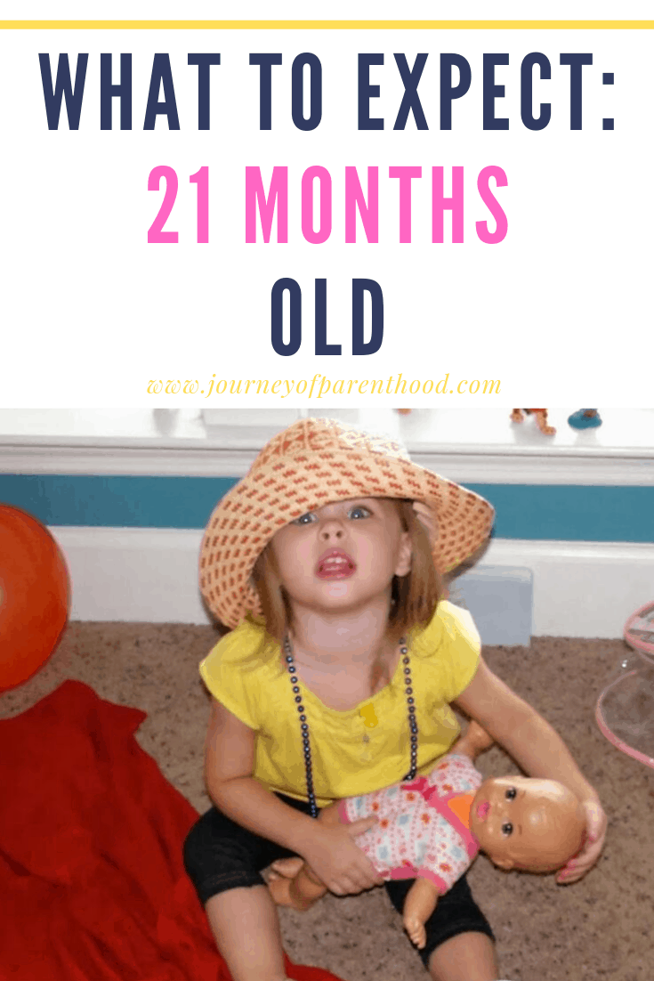 toddler girl - what to expect at 21 months old