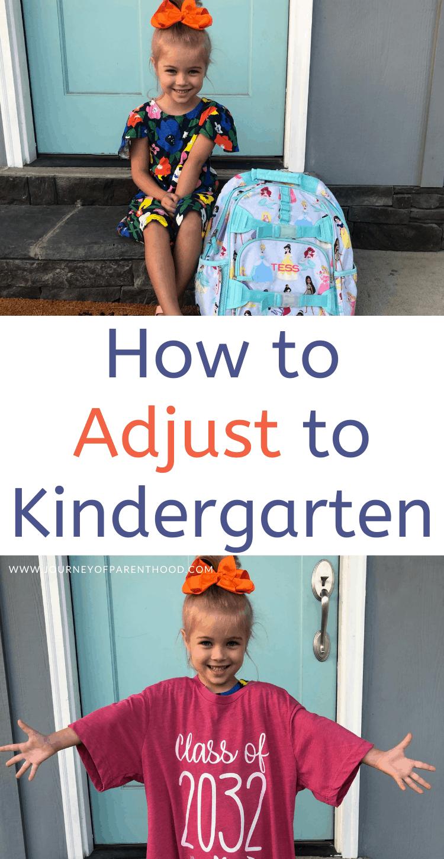 how to adjust to kindergarten