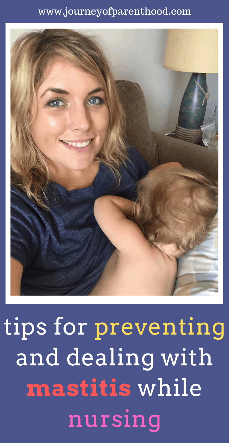 mom nursing baby - tips for preventing with a dealing with mastitis while nursing