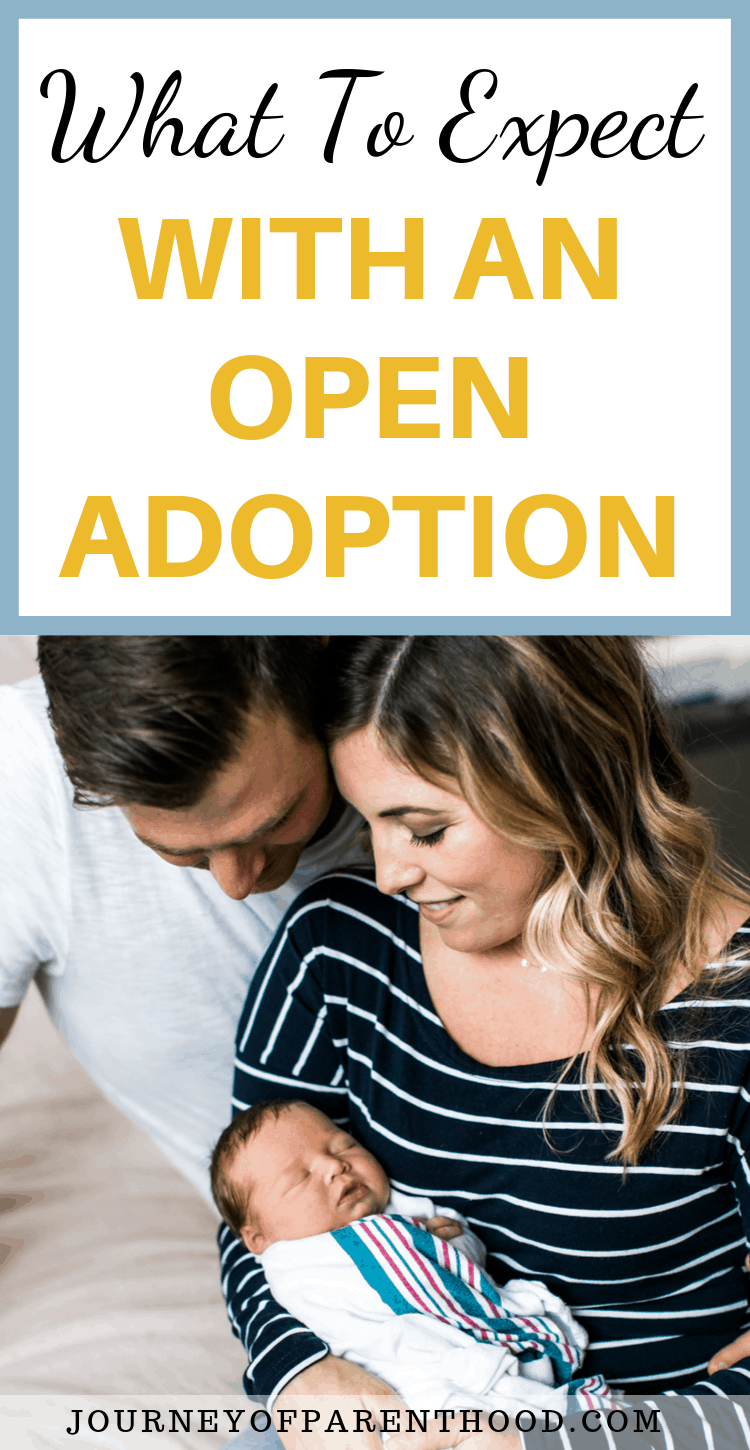 parents with new baby - what to expect with an open adoption