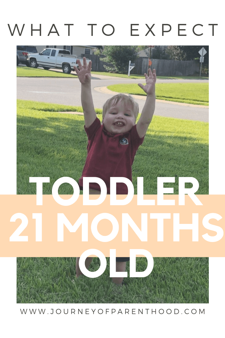 toddler boy - what to expect at 21 months old