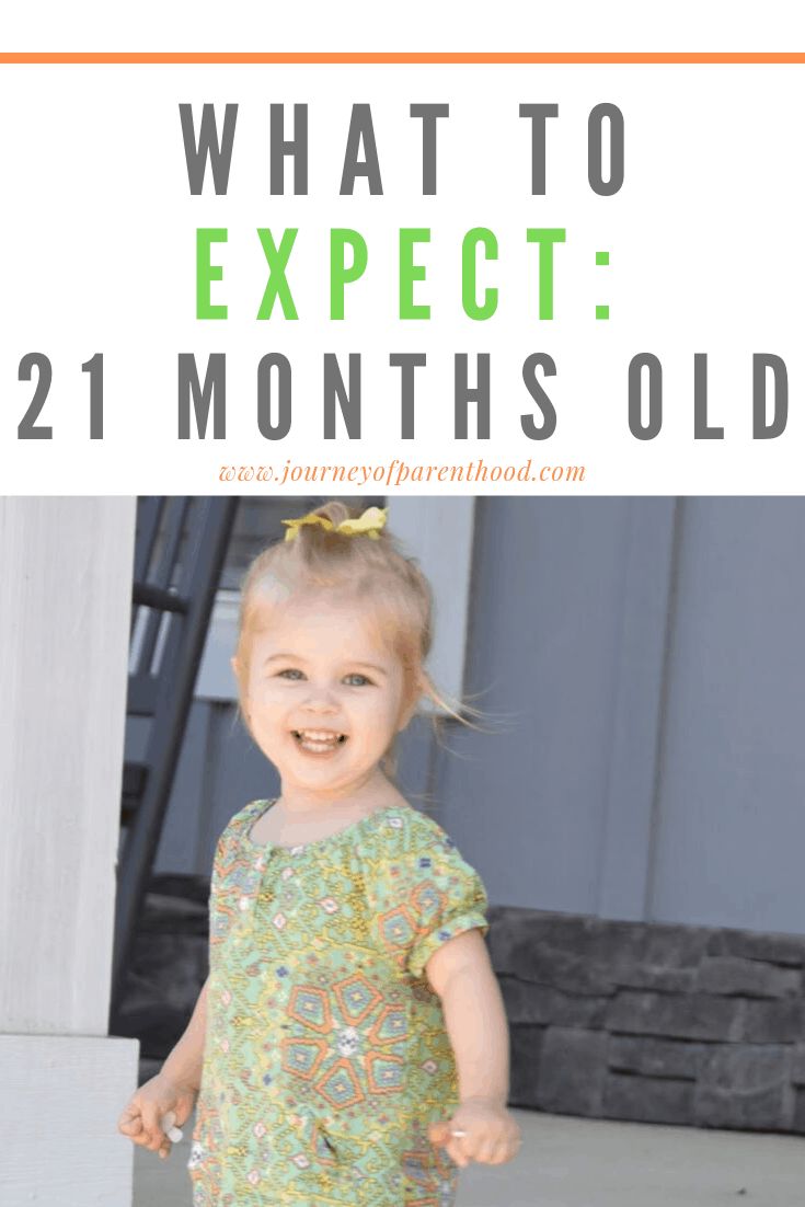 toddler girl - what to expect, 21 months old