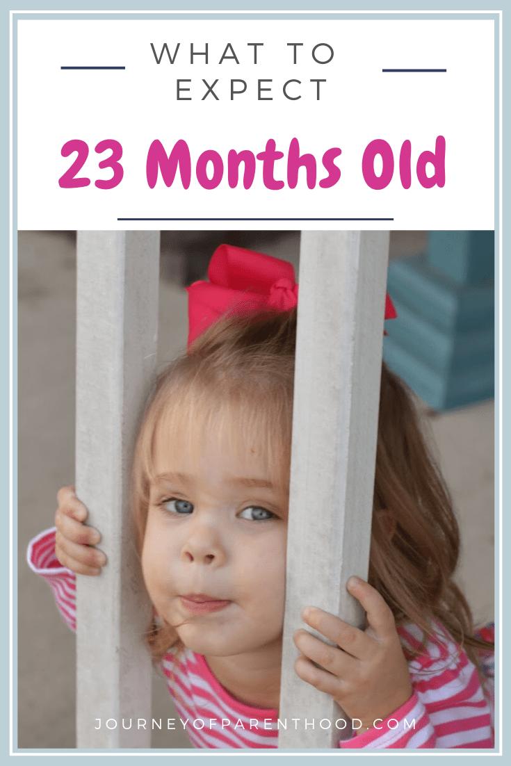 Britt is 23 Months Old!