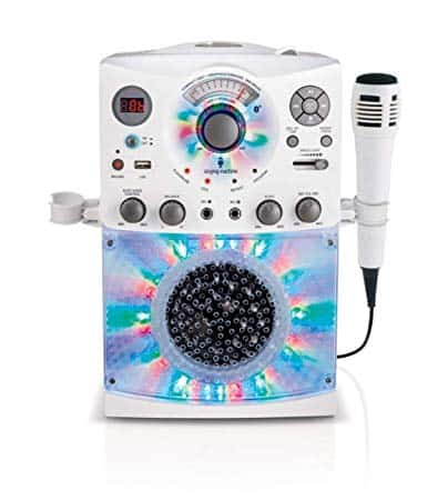 Singing Machine Karaoke System with LED Disco Lights