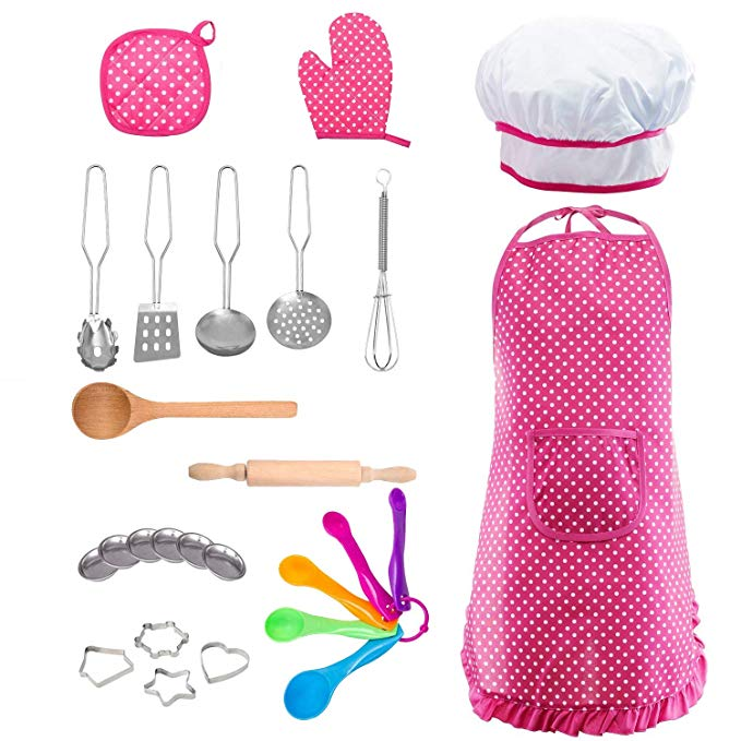 Kids Cooking and Baking Chef Set