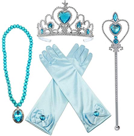 Princess Elsa Dress Up Party Accessories