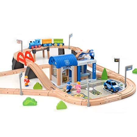 Wooden Train Track Sets