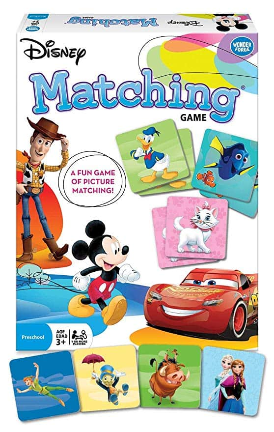 Classic Characters Matching Game for Boys & Girls