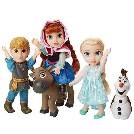 Disney Frozen Deluxe Petite Doll Gift Set