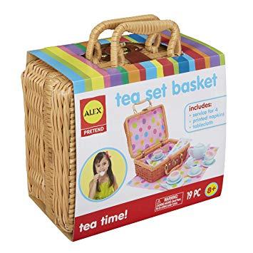 Tea Set Basket