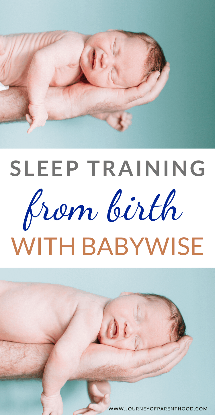 sleep training from birth with Babywise