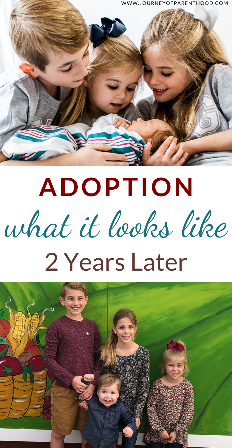 adoption journey two years later - what adoption really looks like
