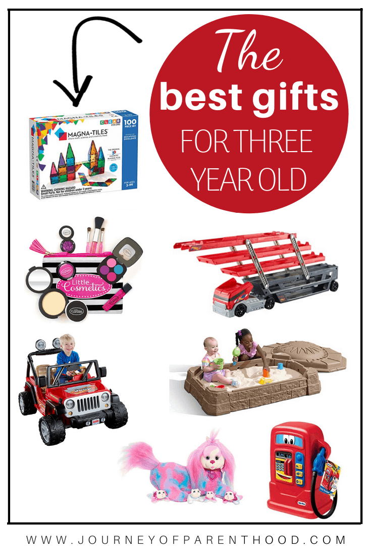 the best gifts for three year olds - three year old gift guide