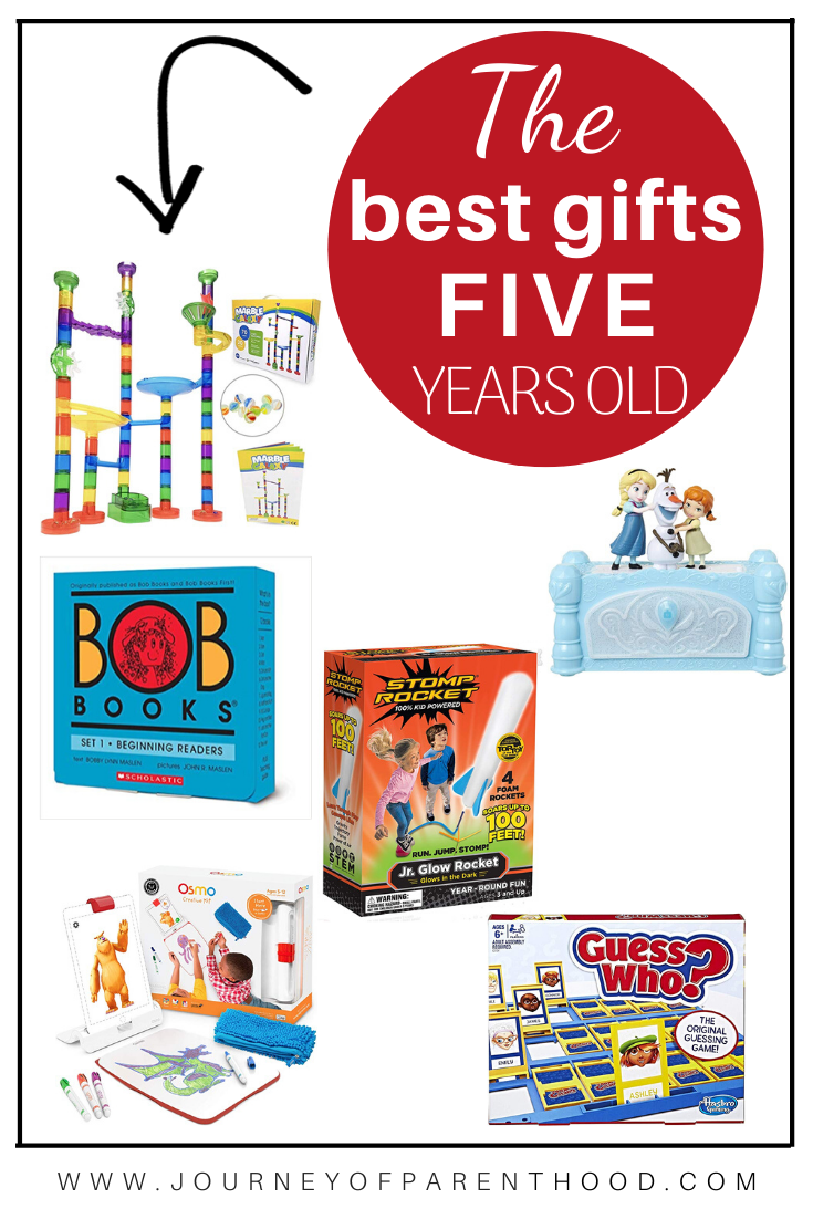 best toys for five year old - five year old gift ideas