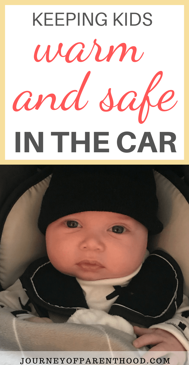 keeping kids warm and safe in the car