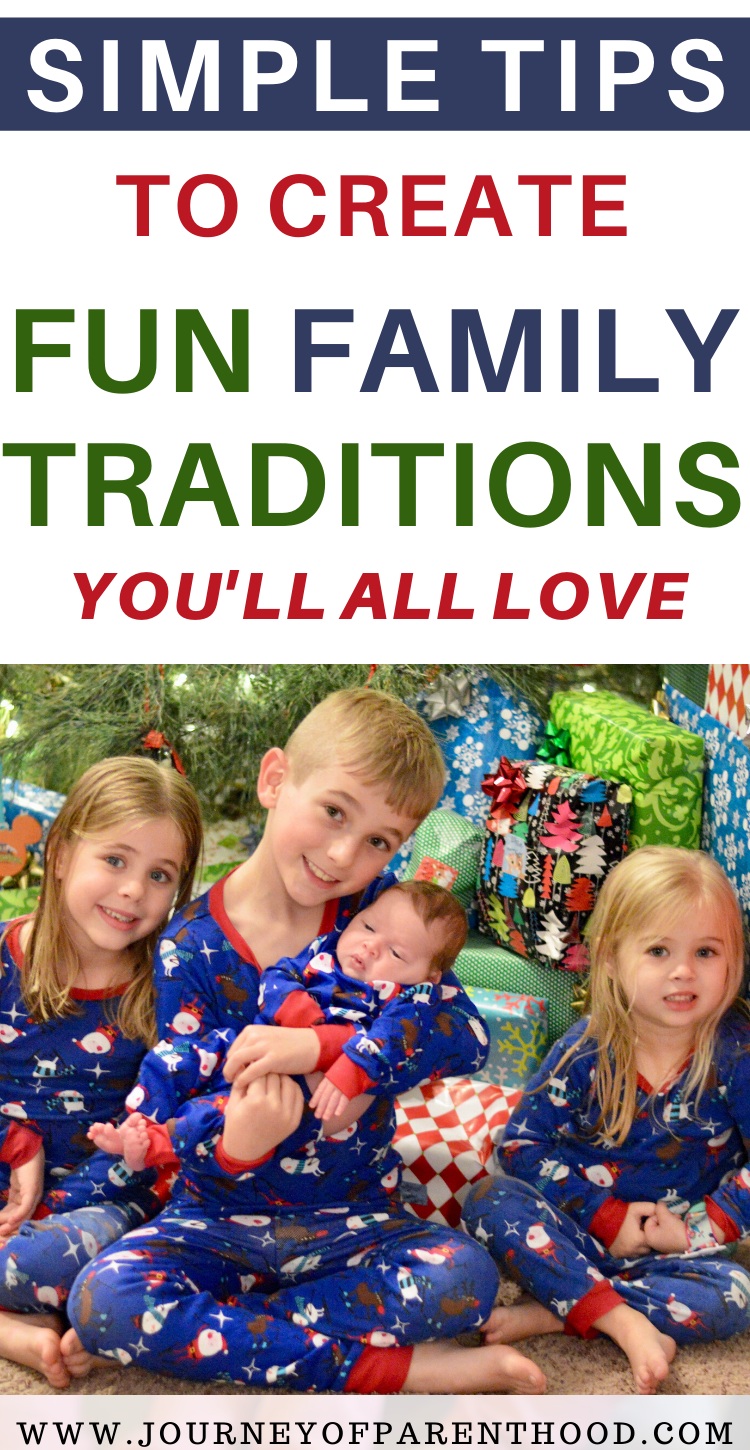 simple tips to create fun family traditions you'll all love