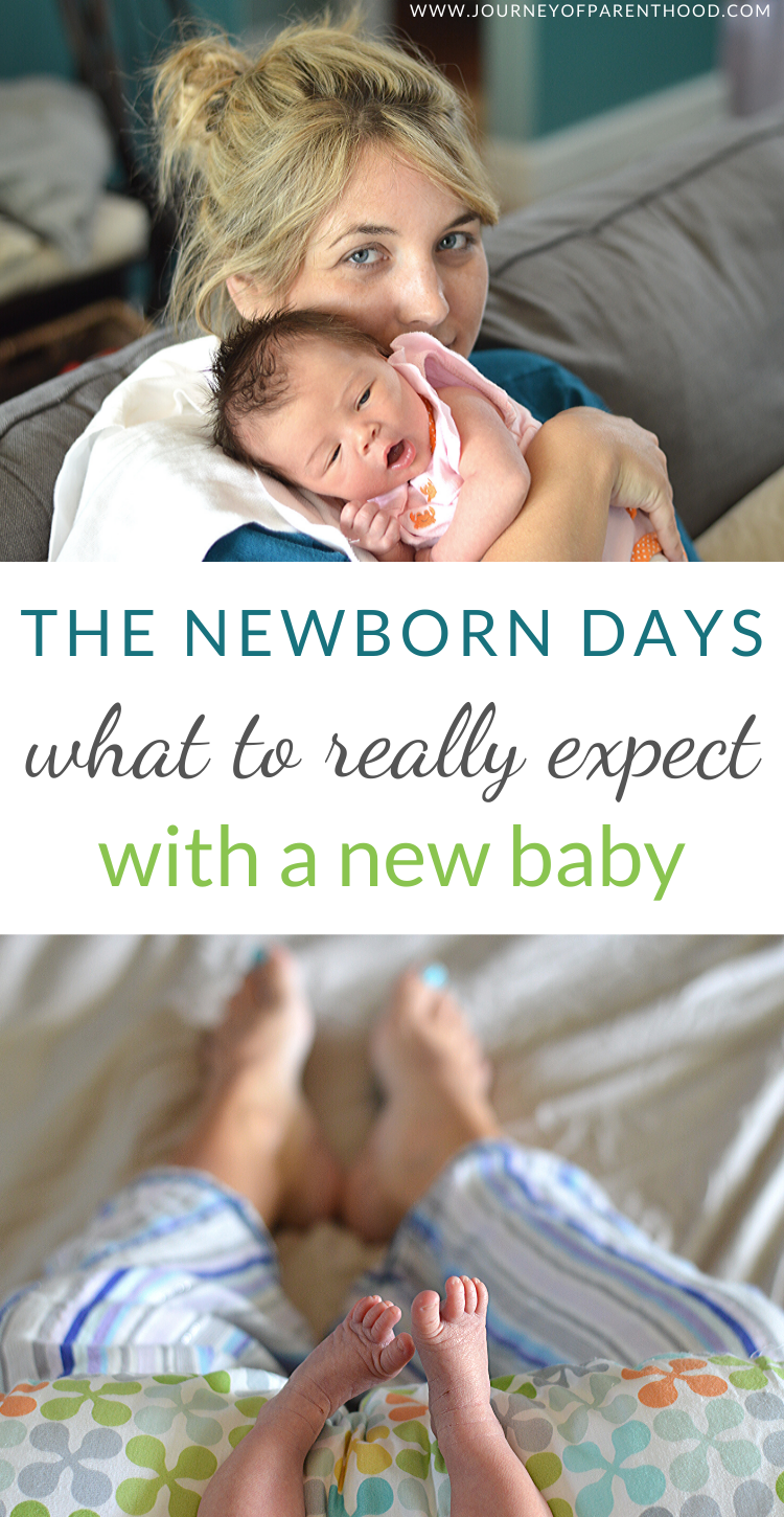 the newborn days what to really expect with a new baby