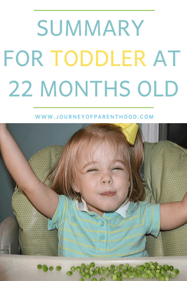 toddler at 22 months old
