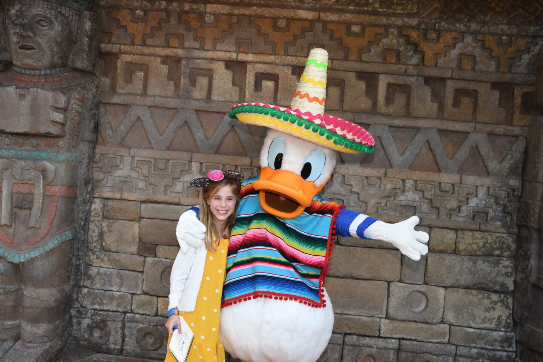 Britt's 8th Disney Birthday: Solo Park Days