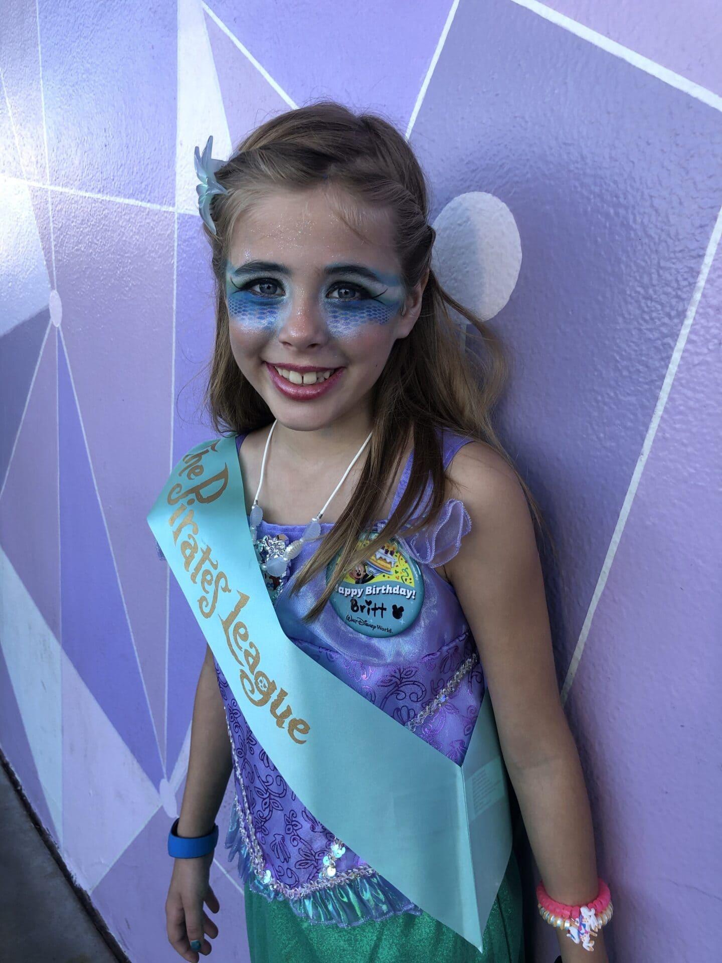 Britt's 8th Disney Birthday: Magic Kingdom and Pirate's League