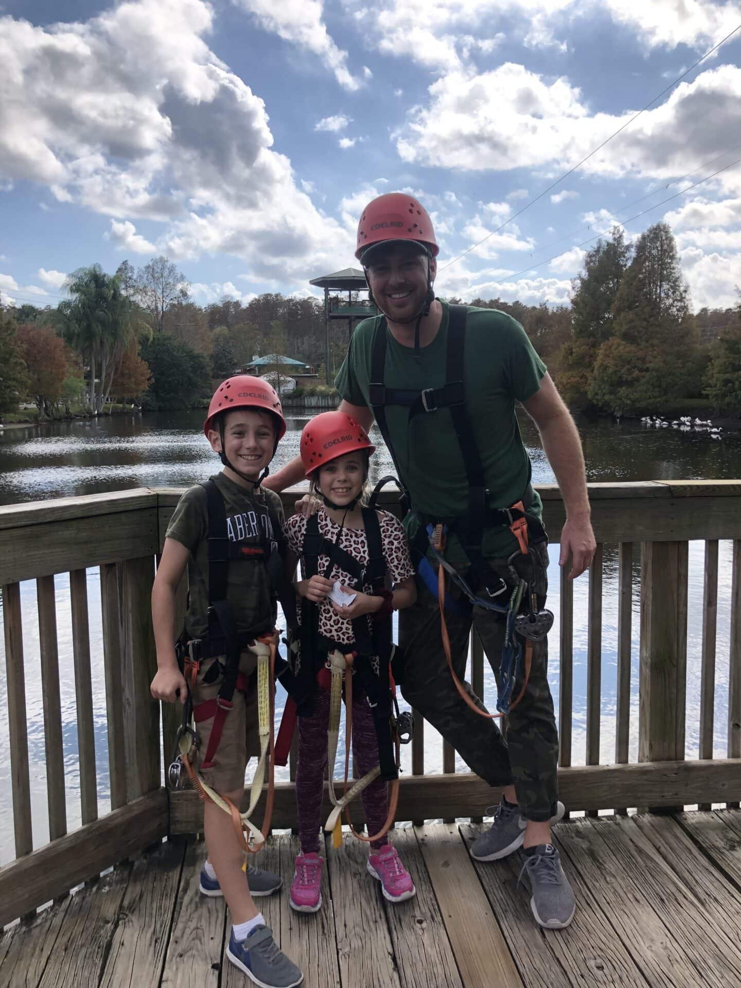 Visiting Gatorland in Orlando, Florida – Ziplining at Gatorland